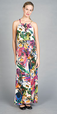 Floral Print Maxi Dresses by Walter