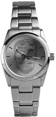 Zadig & Vortaire Womens Analogue Quartz Watch with Stainless Steel Strap ZV029/FM