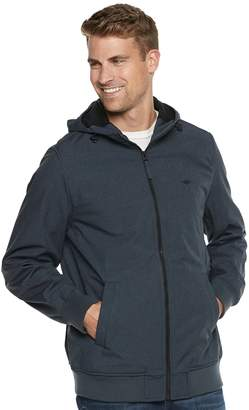 Dockers Big & Tall Chase Performance Hooded Softshell Bomber Jacket