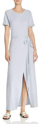 Elizabeth and James Welles Faux-Wrap Maxi Dress