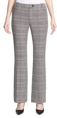 Calvin Klein Petite Plaid Stretch Pants
