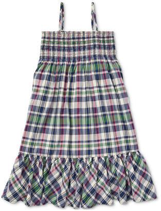 Polo Ralph Lauren Toddler Girls Cotton A-Line Dress