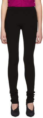 Helmut Lang Black Parachute Leggings