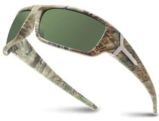 Shark Eyes Inc RealTree Xtra Camouflage Print Hunting Fishing Polarized Sport Sunglasses (G15)