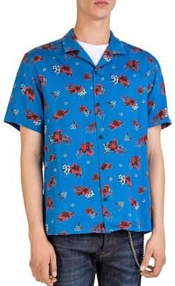 The Kooples Hawaiian Night Camp Shirt