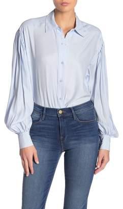 Frame Full Sleeve Silk Shirt