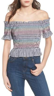 WAYF Nantes Off the Shoulder Top