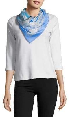 Lauren Ralph Lauren Printed Silk Scarf