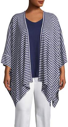 Liz Claiborne 3/4 Sleeve Kimono - Plus