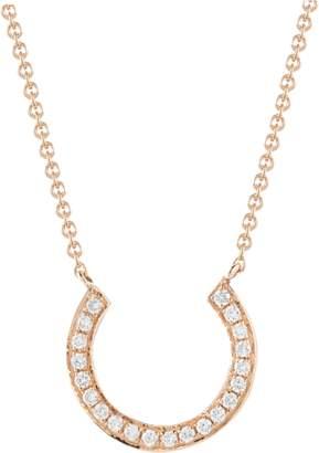 DANA REBECCA DESIGNS Diamond Horseshoe Necklace