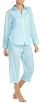 Ralph Lauren Seaside Classic Capri Pajama Set