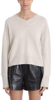 Helmut Lang High V Neck Sweater