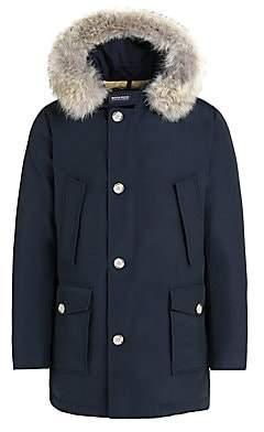 Woolrich Men's Fur-Trim Arctic Parka