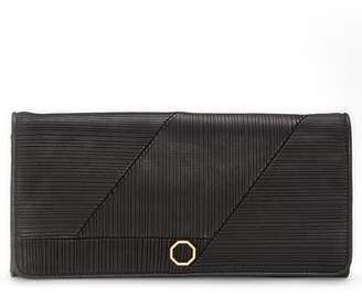 Louise et Cie Calan Leather Flap Clutch