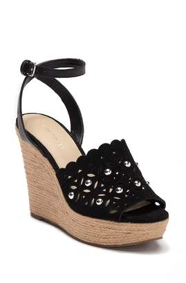 Marc Fisher Hata Cut-Out Wedge Sandal