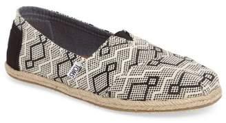 Toms Classic Print Slip-On Shoe