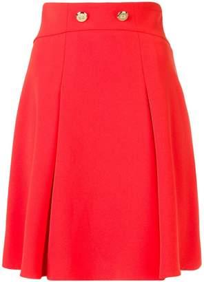 Elisabetta Franchi A-line button skirt