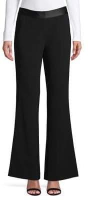 Diane von Furstenberg Pull-On Tuxedo Pants