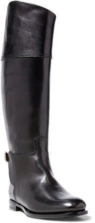 Ralph Lauren Sallen Polished Calfskin Boot