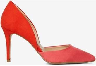 Dorothy Perkins Womens Pink Microfibre 'Etta' Court Shoes