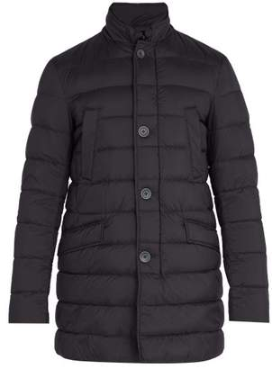 Herno Legend Quilted Down Coat - Mens - Navy