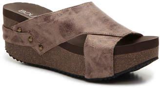 Boutique by Corkys Green Field Wedge Sandal - Women's