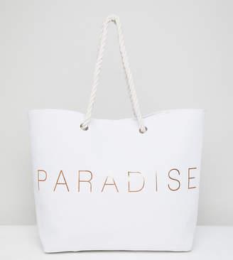 South Beach Paradise Beach Bag