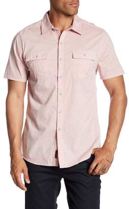 Seven7 Chest Flap Pocket Regular Fit Shirt
