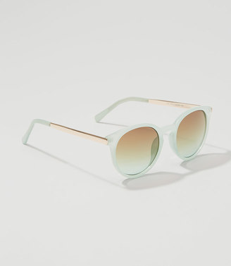 Keyhole Round Sunglasses $24.50 thestylecure.com