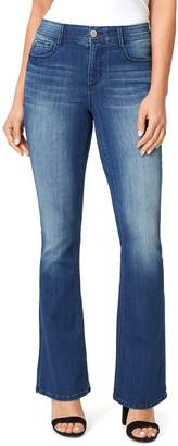 Angels Women's Ever Luxe Mini Bootcut Jeans