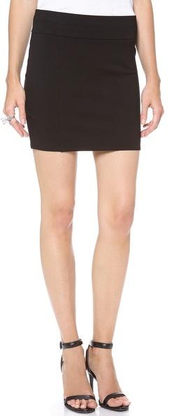 Helmut Lang HELMUT Jersey Miniskirt