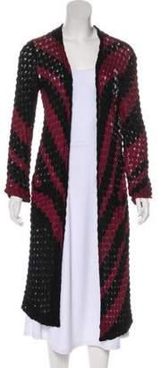 Missoni Open Knit Longline Cardigan