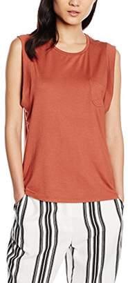 Garcia Women's Short Sleeve T-Shirt - Brown - 8