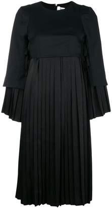 Comme des Garcons empire line pleated dress