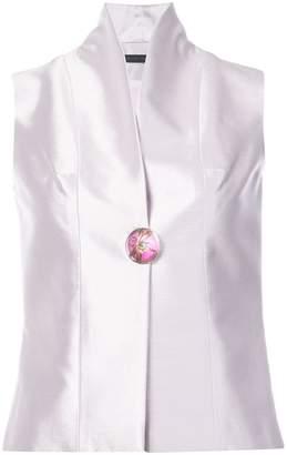 Rubin Singer standing collar waistcoat