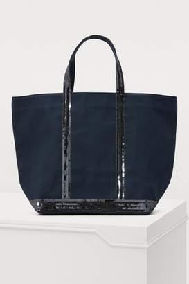 b39cc678522e Vanessa Bruno Medium+ Sequined Canvas Tote Bag