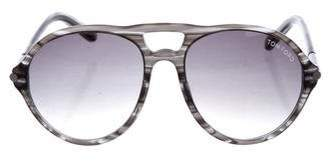 Tom Ford Jasper Aviator Sunglasses