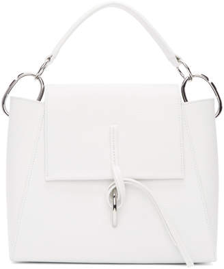 3.1 Phillip Lim White Leigh Top Handle Bag
