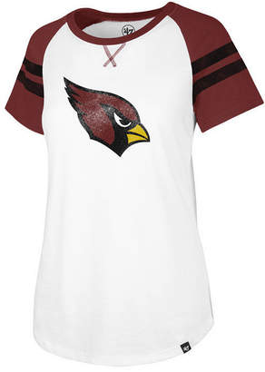'47 Women's Arizona Cardinals Flyout Raglan T-Shirt