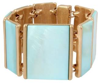 Robert Lee Morris Blue Mother of Pearl Bracelet