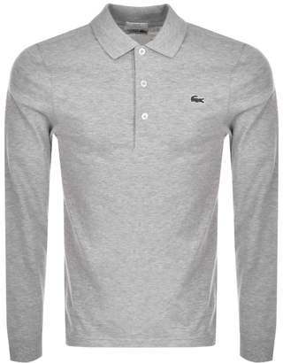 Sport Slim Polo T Shirt Grey