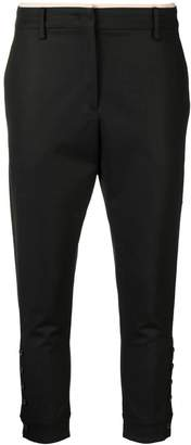 No.21 cropped high waisted trousers
