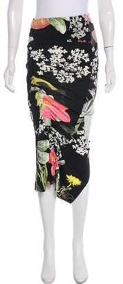 Preen by Thornton Bregazzi Printed Midi Skirt