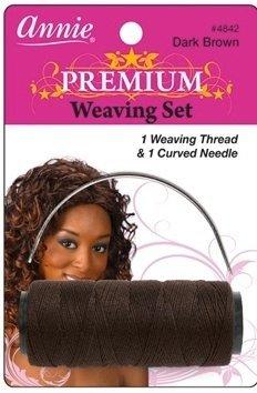 Annie Weaving Set - Dark Brown $3.99 thestylecure.com