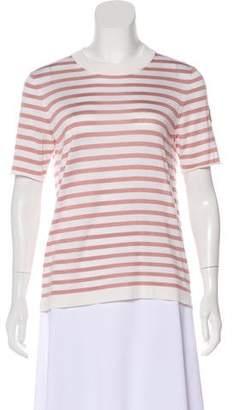 Louis Vuitton Short Sleeve Striped Top