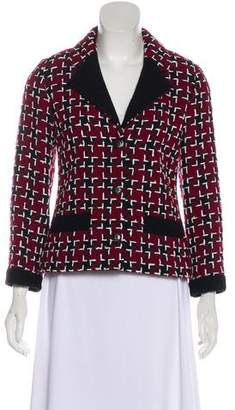 Chanel Wool Fantasy Tweed Blazer