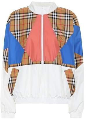 Burberry Vintage Check silk jacket