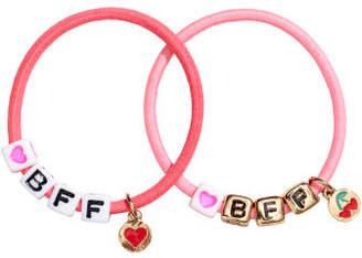 H&M 2-pack bracelets - Pink
