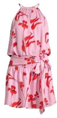 Parker Larissa Draped Mini Dress