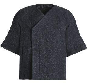 Rick Owens Brushed Cotton-Blend Bouclé Jacket